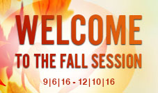 Fall Session Newsletter
