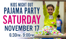 Exxcel Pajama Party Kids Night Out